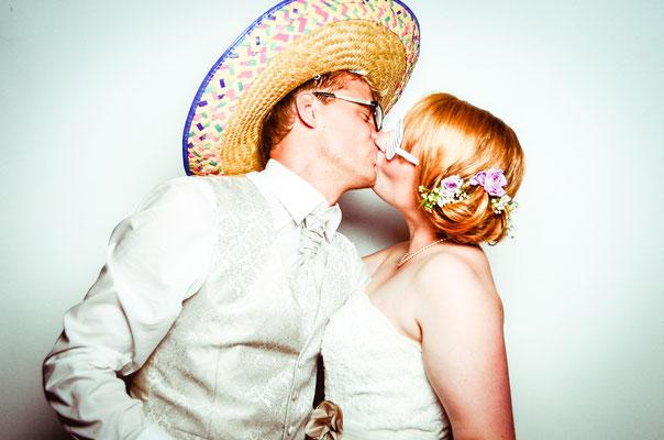 Fotobox auf einer Hochzeit in Hamburg